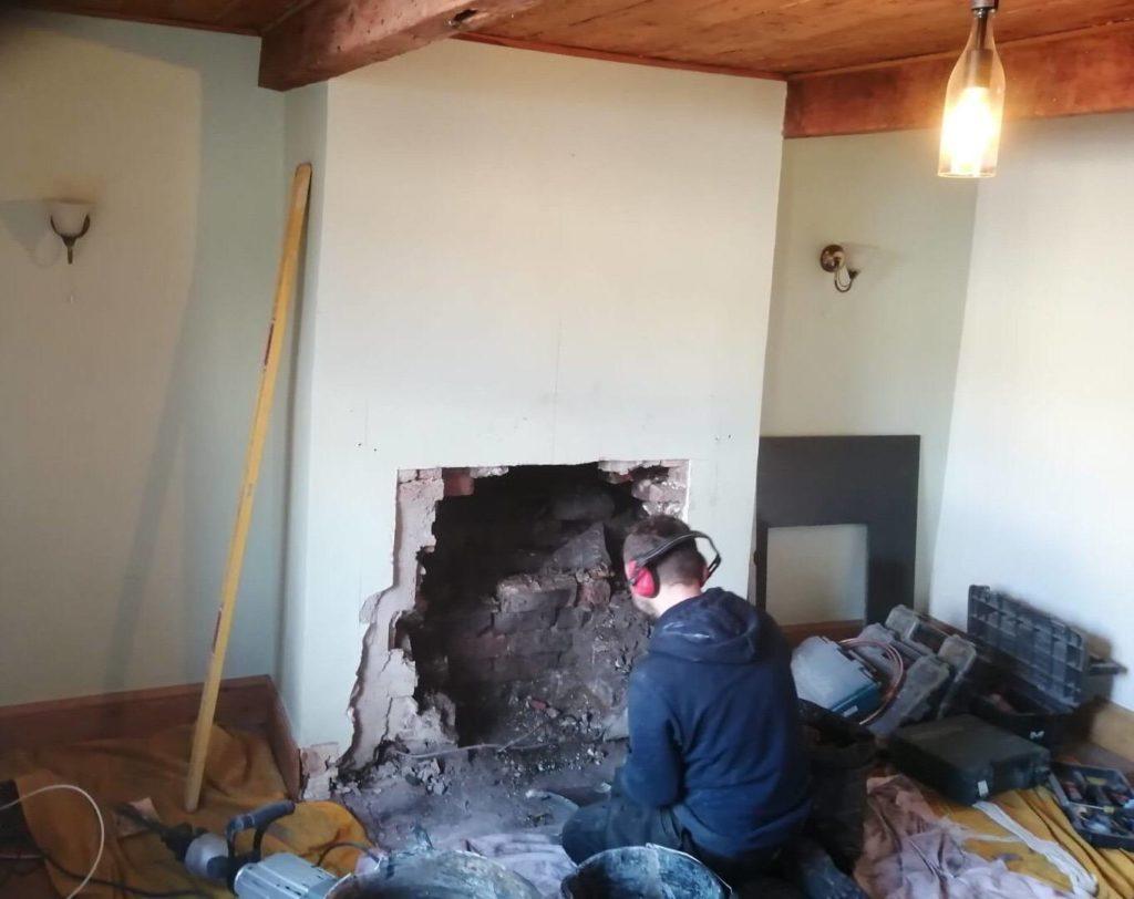 Gazco Huntingdon Stove Installation in Knuzden