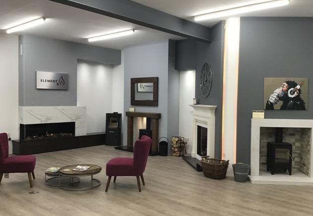 Fireplace Showroom Near Preston