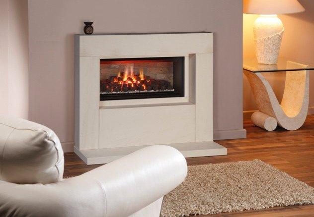 Canterbury Fireplace Showroom Installation
