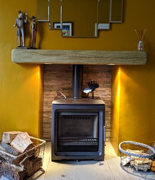 Wood burning stove clitheroe
