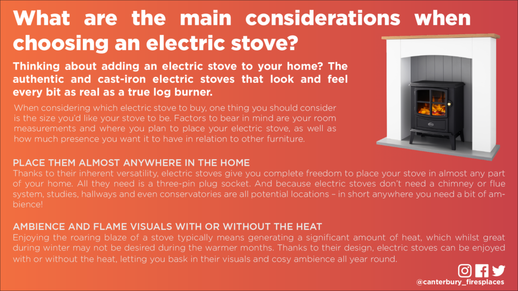 Considering an electric stove?