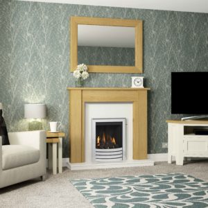 "Be Modern Hainsworth 48"" Timber Surround"