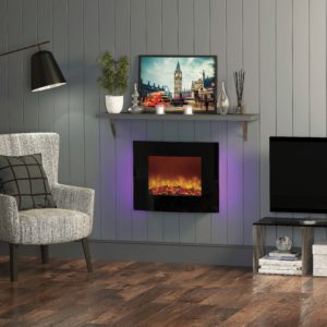 "Be Modern Quattro 25"" Wall Mounted Electric Fire"