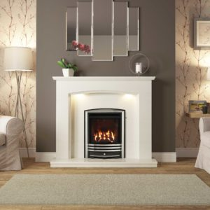 "Be Modern Emelia 52"" Marble Surround"