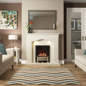 "Be Modern Mataro 48"" Marble Surround"