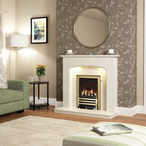 Be Modern Tasmin Marble Surround